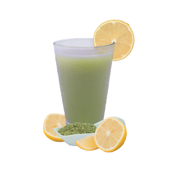 Lemon Matcha Green Tea Flavored Drink Mix